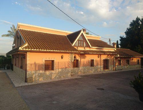 Construcción casa de campo