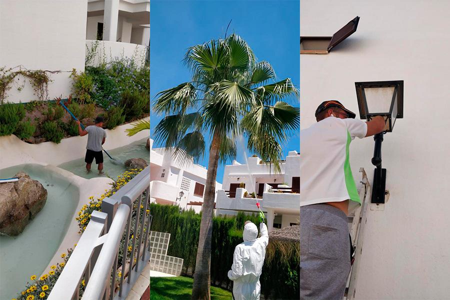 mantenimiento de jardines en Terreros, Pulpí o Águilas